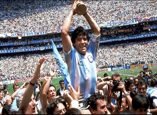 Maradona copa 86