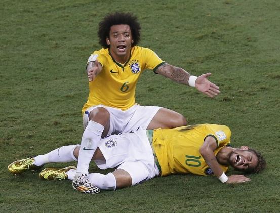 Neymar dolor